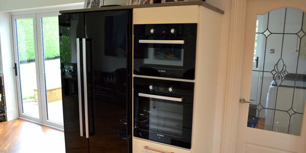 mr and mrs walker kitchen oven and fridge