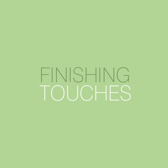 finishing touches range