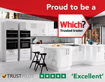 direct kitchens are proud to be a which trusted trader