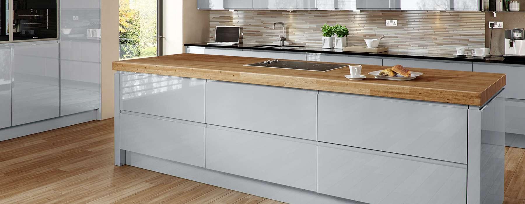 designer fitted kitchen