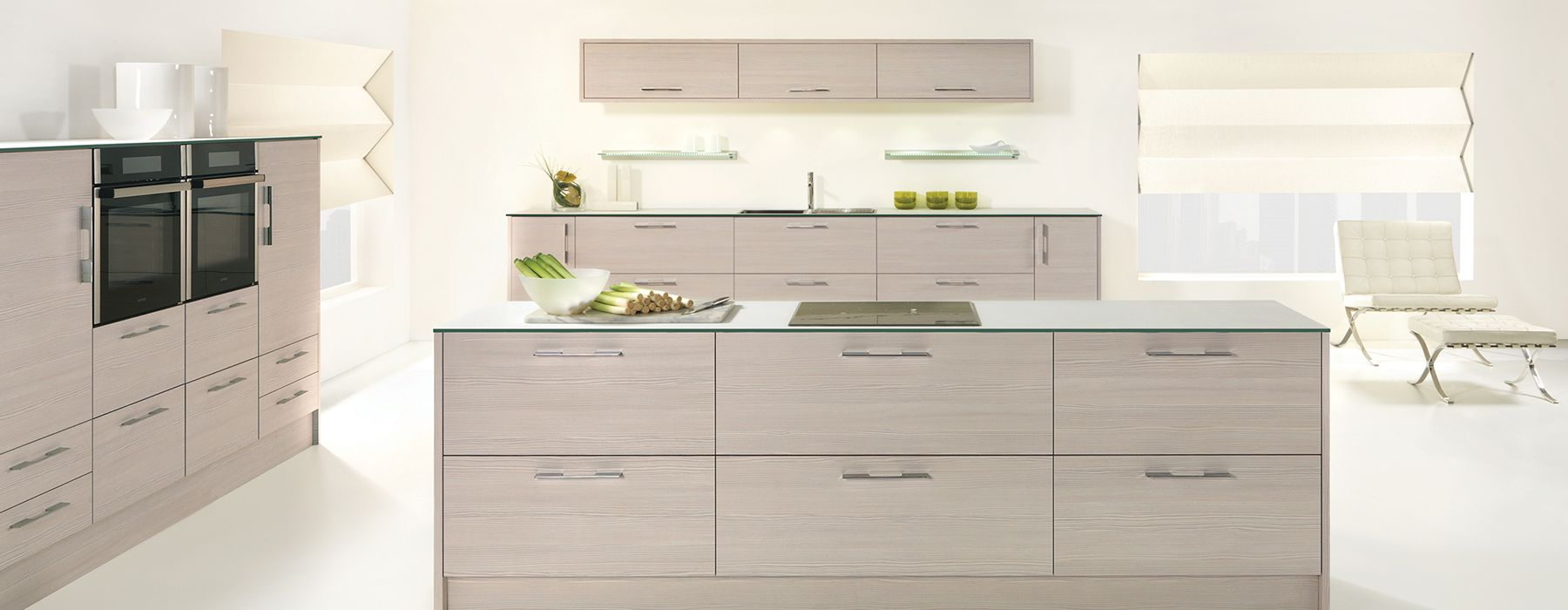 avola white modern kitchen