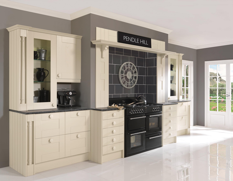 pendle cream in frame kitchen