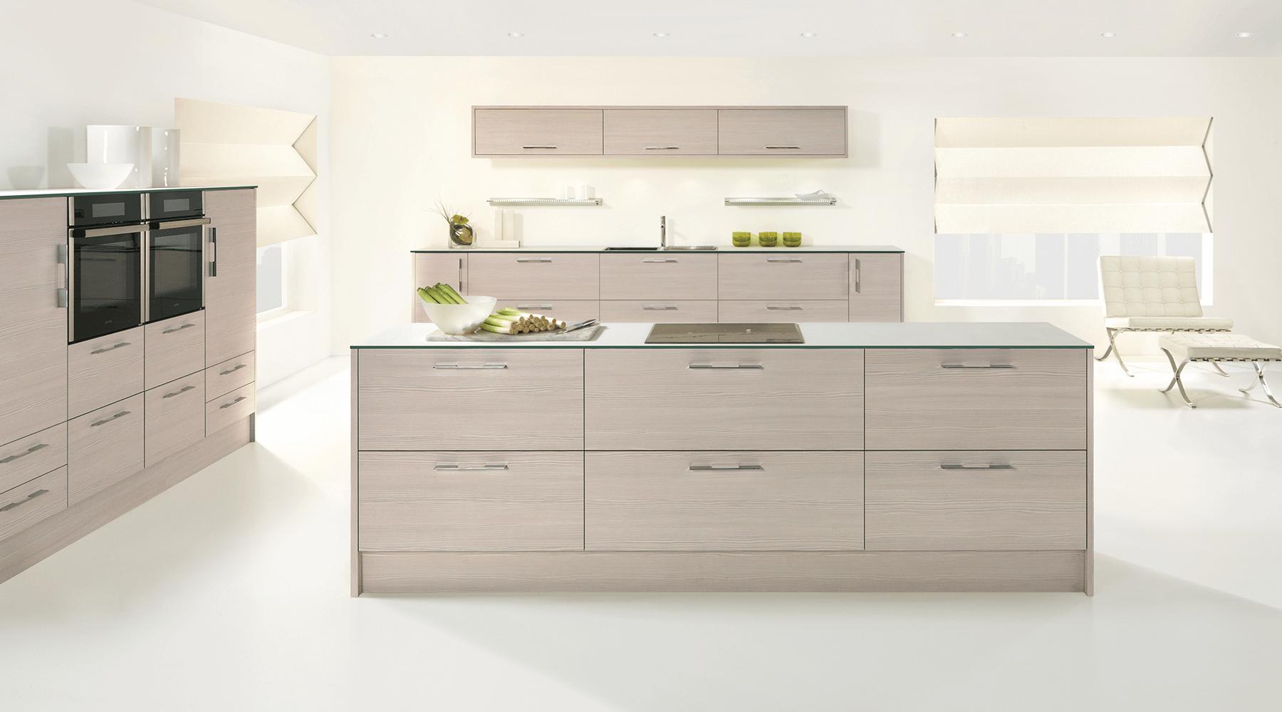 avola white modern kitchen sheffield