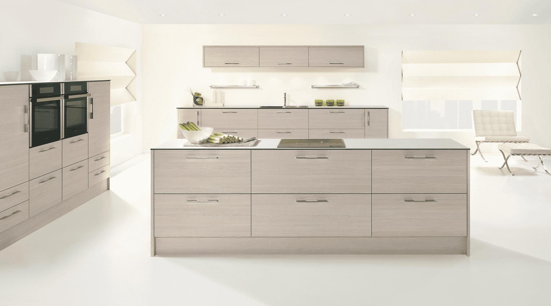 avola white designer kitchen